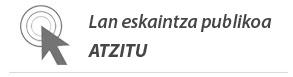 Oferta pública de empleo y Lan eskaintza publikoa