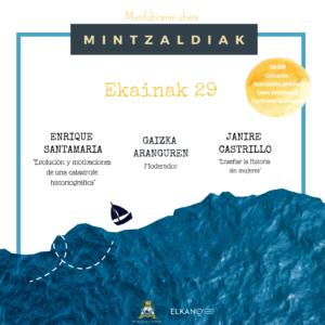 """, Ciclo: """"Elkano ala Elkanoak: historia, memoria eta kontaerak"""" (II), Getariako Udala"""