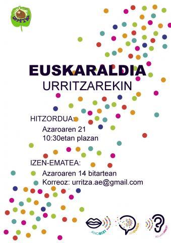 EUSKARALDIA URRITZAREKIN