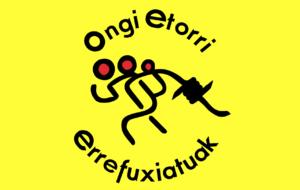 """""""Ongi etorri errefuxiatuak"""" invitamos a la ciudadanía a poner banderolas"""