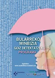 BULARREKO MINBIZIA GOIZ DETEKTATZEKO PROGRAMA – GETARIA: Zitazio epea, 2018ko azaroaren 2. hamabostaldia.