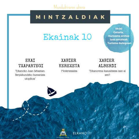 Mintzaldia: Elkano ala Elkanoak Historia, Memoria eta Kontaerak
