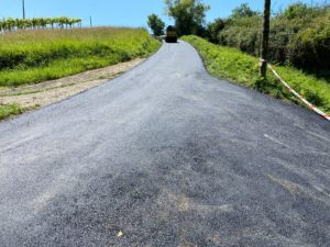Han finalizado las obras de reforma de los caminos vecinales de este año