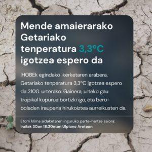 , Getariako Klima eta energia plana, Getariako Udala